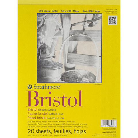 STRATHMORE: Bristol Smooth Paper Pad