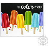 SUNNY STUDIO: Perfect Popsicles Sunny Snippets