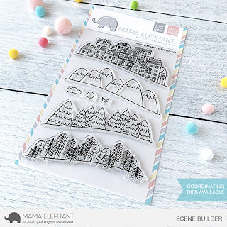 MAMA ELEPHANT: Scene Builder | Stamp