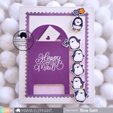 MAMA ELEPHANT: Snail Mail Creative Cuts