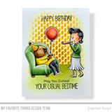 MFT STAMPS: BB Festive Old Friends | Stamp