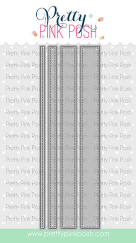 PRETTY PINK POSH: Stitched Strips | Die