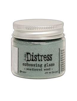 TIM HOLTZ: Distress Embossing Glaze | Weathered Wood