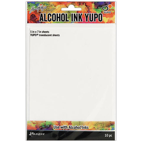 "TIM HOLTZ: Alcohol Ink Yupo Paper 5""x7"" (Translucent)"