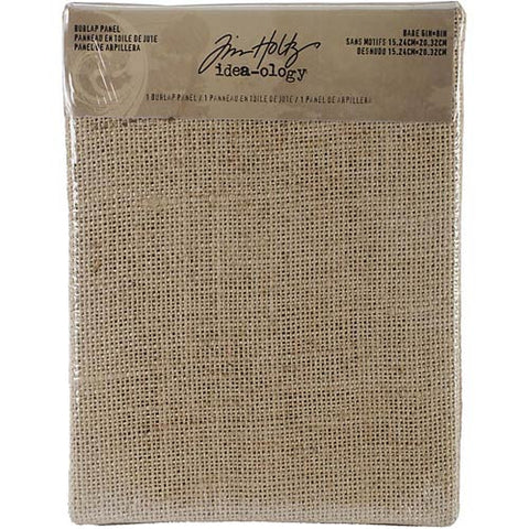 "TIM HOLTZ: Idea-ology Burlap Panel 6"" x 8"""