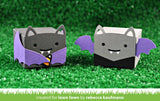 LAWN FAWN: Tiny Gift Box Bat Add-On Lawn Cuts Die