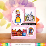 WAFFLE FLOWER: Prost Germany | Stamp