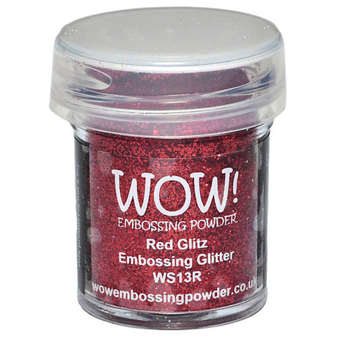 WOW! Embossing Glitter (Red Glitz)