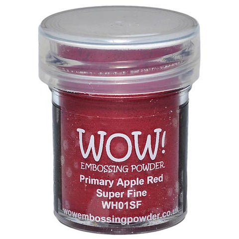 WOW! Embossing Powder Super Fine (Primary Apple Red)