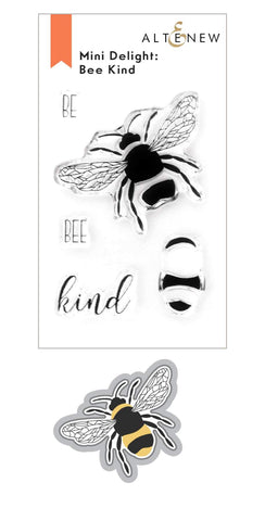 ALTENEW: Mini Delight: Bee Kind | Stamp & Die Set