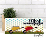 HONEY BEE STAMPS: Wheelbarrow | Honey Cuts