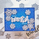 HONEY BEE STAMPS: Winter