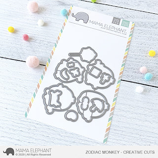 MAMA ELEPHANT: Zodiac Monkey | Creative Cuts