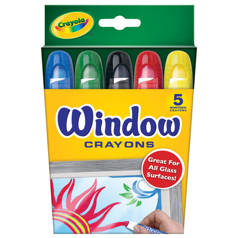 CRAYOLA: Crayons | For Windows | 5 Count