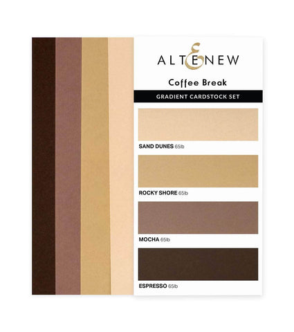 ALTENEW: Gradient Cardstock | Coffee Break