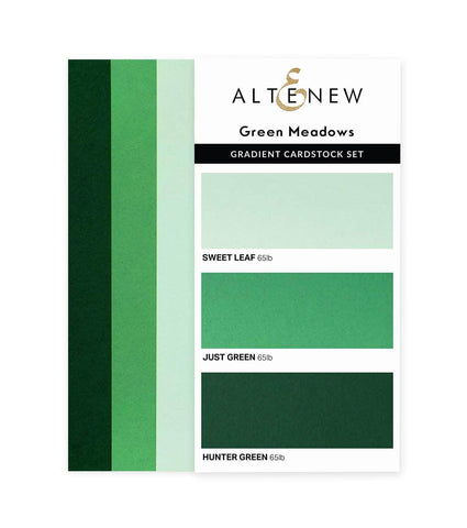 ALTENEW: Gradient Cardstock | Green Meadows