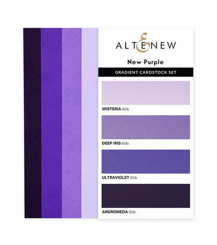 ALTENEW: Gradient Cardstock | New Purple