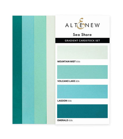ALTENEW: Gradient Cardstock | Sea Shore