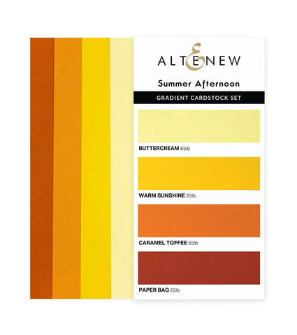 ALTENEW: Gradient Cardstock | Summer Afternoon