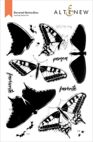 ALTENEW: Dovetail Butterflies | Stamp