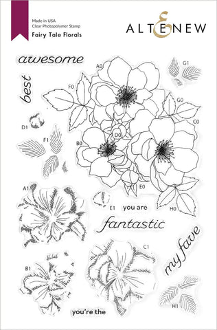 ALTENEW: Fairy Tale Florals | Stamp