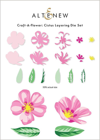 ALTENEW: Craft-A-Flower: Cistus | Layering Die