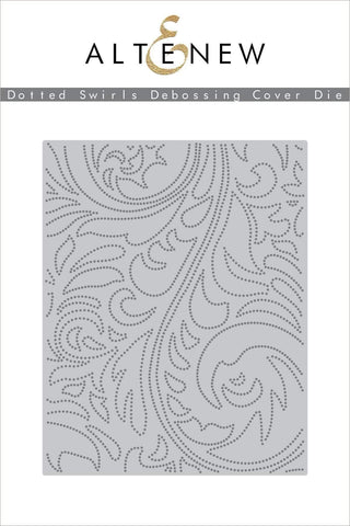 ALTENEW: Dotted Swirls | Debossing Cover Die