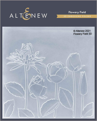 ALTENEW: Flowery Field | 3D Embossing Folder