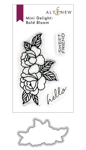 ALTENEW: Mini Delight: Bold Bloom | Stamp and Die Bundle