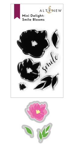 ALTENEW: Mini Delight: Smile Blooms | Stamp & Die Set