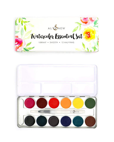 ALTENEW: Watercolor Essential | 12 Half Pan