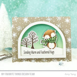 MFT STAMPS: SY Warm & Feathered Hugs Die-namics*