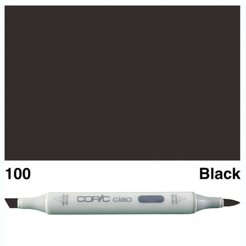 COPIC: Ciao Marker 100 (Black) ORMD