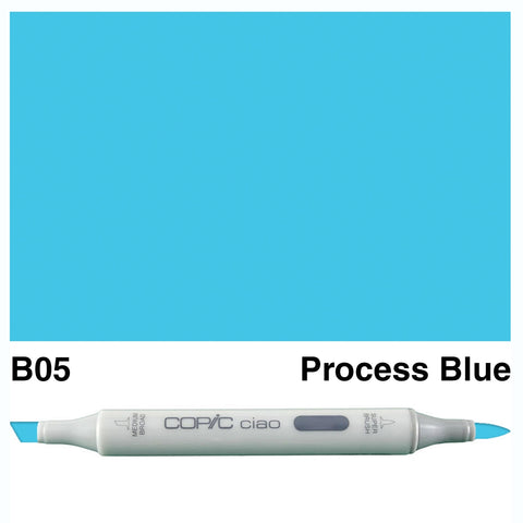 COPIC: Ciao Marker B05 (Process Blue) ORMD