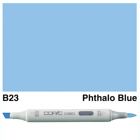 COPIC: Ciao Marker B23 (Phthalo Blue) ORMD