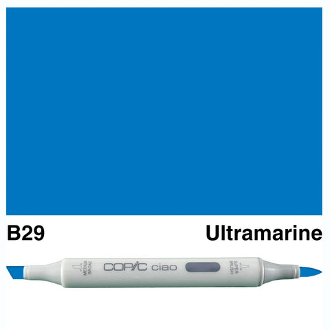 COPIC: Ciao Marker B29 (Ultramarine) ORMD