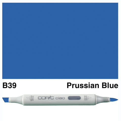 COPIC: Ciao Marker B39 (Prussian Blue) ORMD