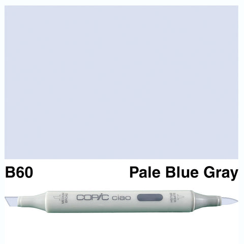 COPIC: Ciao Marker B60 (Pale Blue Gray) ORMD