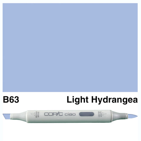 COPIC: Ciao Marker B63 (Light Hydrangea) ORMD