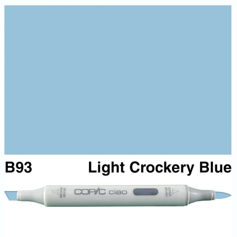 COPIC: Ciao Marker B93 (Light Crockery Blue) ORMD