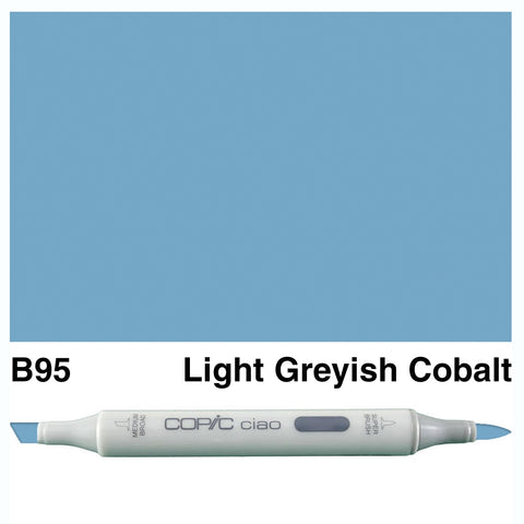 COPIC: Ciao Marker B95 (Light Grayish Cobalt) ORMD