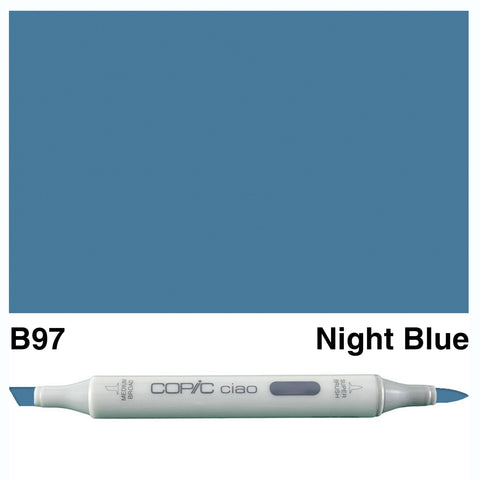 COPIC: Ciao Marker B97 (Night Blue) ORMD