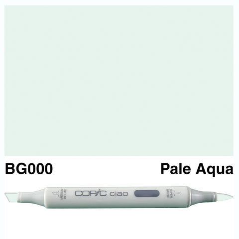 COPIC: Ciao Marker BG000 (Pale Aqua) ORMD