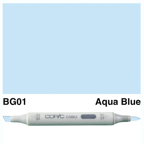 COPIC: Ciao Marker BG01 (Aqua Blue) ORMD