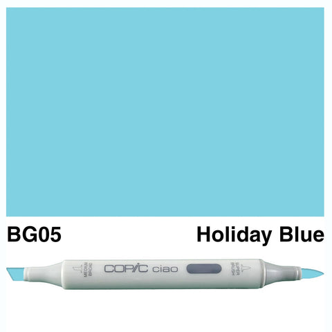 COPIC: Ciao Marker BG05 (Holiday Blue) ORMD