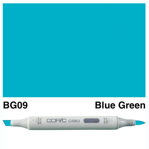 COPIC: Ciao Marker BG09 (Blue Green) ORMD
