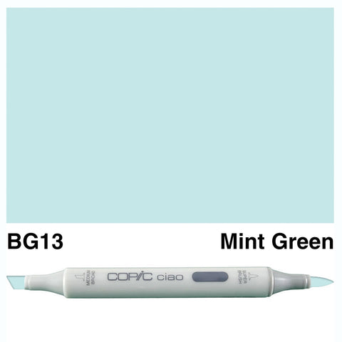 COPIC: Ciao Marker BG13 (Mint Green) ORMD