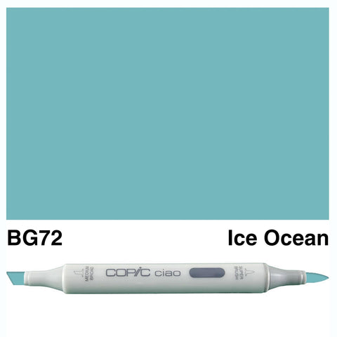 COPIC: Ciao Marker BG72 (Ice Ocean) ORMD