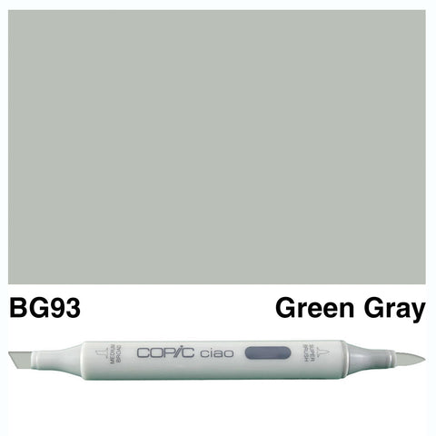 COPIC: Ciao Marker BG93 (Green Gray) ORMD