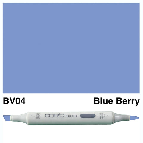 COPIC: Ciao Marker BV04 (Blue Berry) ORMD